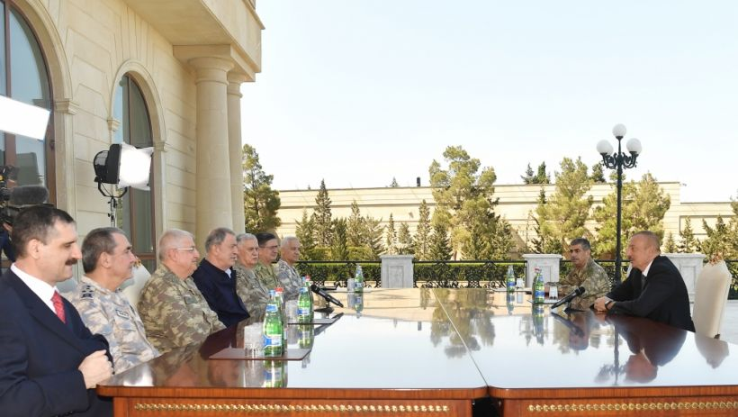 President Ilham Aliyev received delegation led by Turkish Minister of National Defense