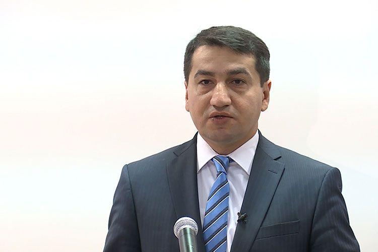 """Azərbaycan Prezidentinin köməkçisi: """"Ermənistan kimi bir dövlətin beynəlxalq hüquqdan danışmağa mənəvi haqqı yoxdur"""""""