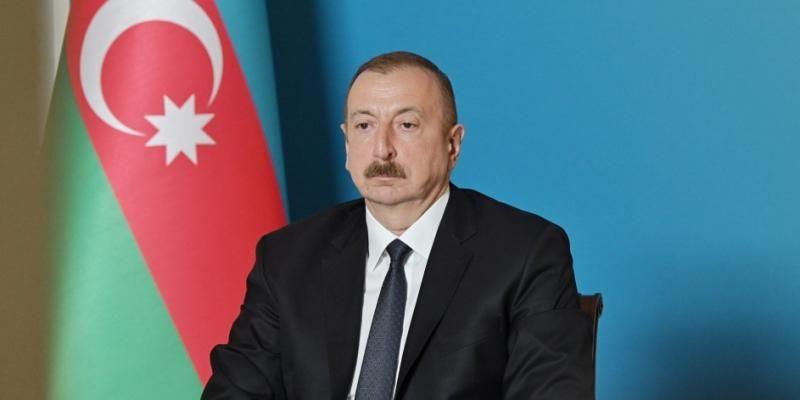 Президент Ильхам Алиев выразил соболезнования президенту Украины