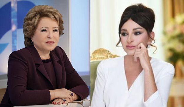 Valentina Matviyenko Mehriban Əliyevaya təbrik məktubu göndərib