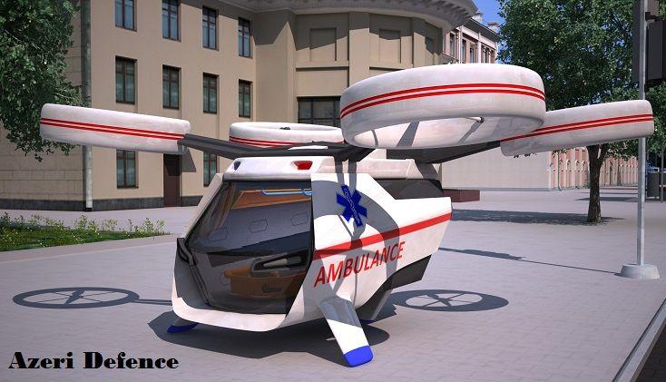 Ambulans dron -  Azərbaycanda ilk