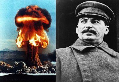 Atom bombası, yoxsa Stalin -  TARİX