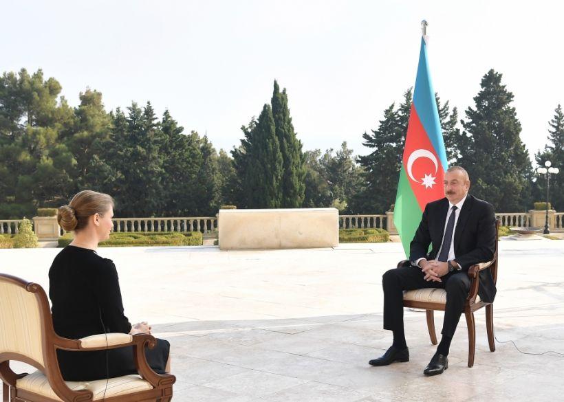 Prezident İlham Əliyev Rusiyanın TASS informasiya agentliyinə müsahibə verib