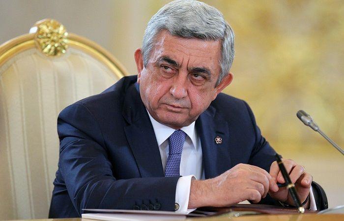 """Sarkisyandan Paşinyana ittiham: """"Mənim xələfim bizim uğurla getdiyimiz yol ilə getmədi"""""""