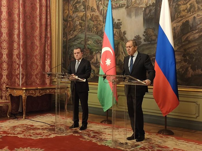 Azerbaijani and Russian FMs meet in Moscow