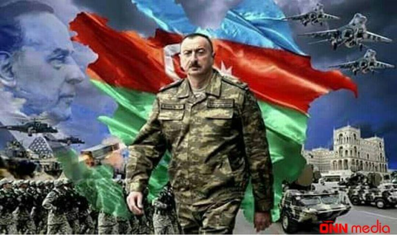 Azərbaycan sahibkarı Ali Baş Komandanın müsəlləh əsgəridir
