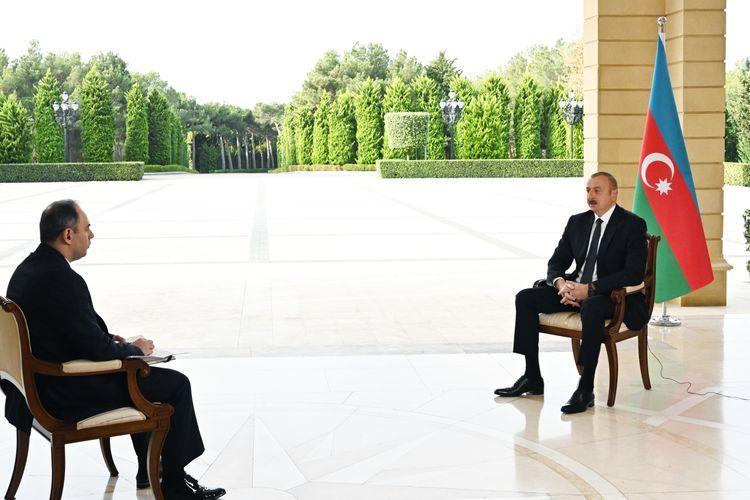 Prezident İlham Əliyev Rusiyanın İnterfaks agentliyinə müsahibə verib tam mətn