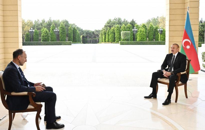 Prezident İlham Əliyevin Almaniyanın ARD televiziya kanalına müsahibəsi TAM MƏTN