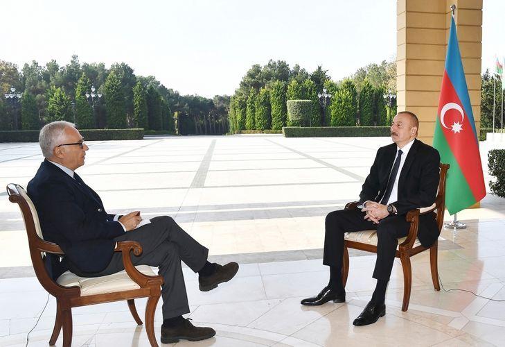Ильхам Алиев: «Пашинян должен сказать, что выведет войска из Агдамского, Кельбаджарского и Лачинского районов»