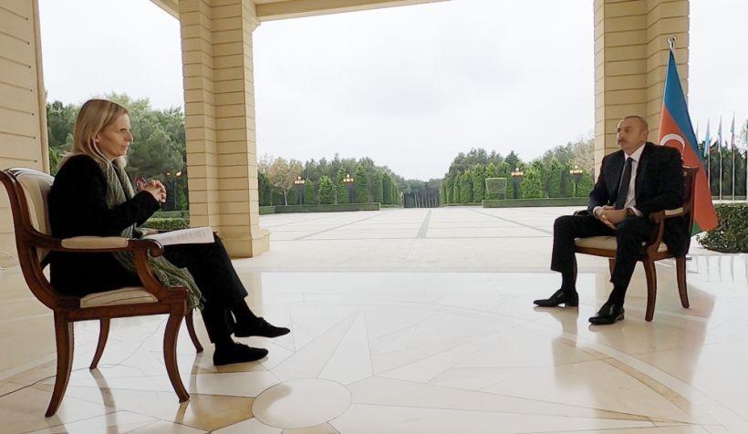 """Prezident İlham Əliyevin """"BBC News""""a müsahibəsi -  Tam mətn"""
