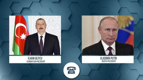 İlham Əliyevlə Vladimir Putin arasında telefon danışığı -  Helikopter olayı