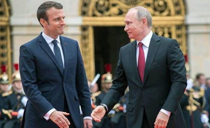 Putin və Makronun Qarabağdakı durumla bağlı -  telefon danışığı