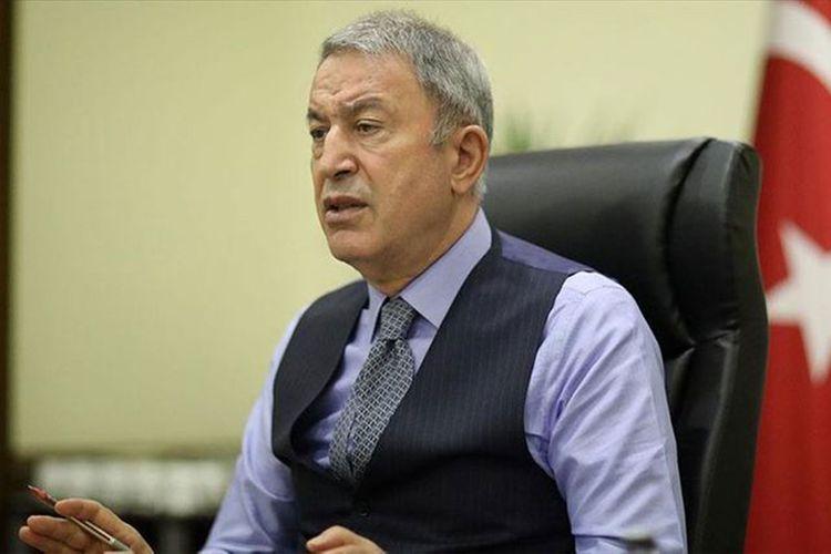 """Hulusi Akar: """"Qarabağla bağlı Türkiyə və Rusiya arasında qarşılıqlı əməkdaşlıq davam edir"""""""