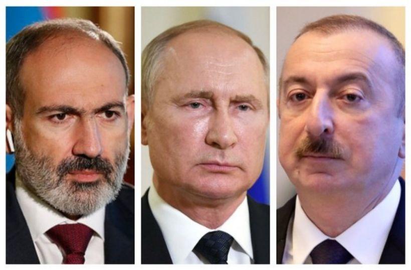 Putinin Azərbaycan Prezidenti və Ermənistanın baş naziri ilə növbəti telefon danışığı olub