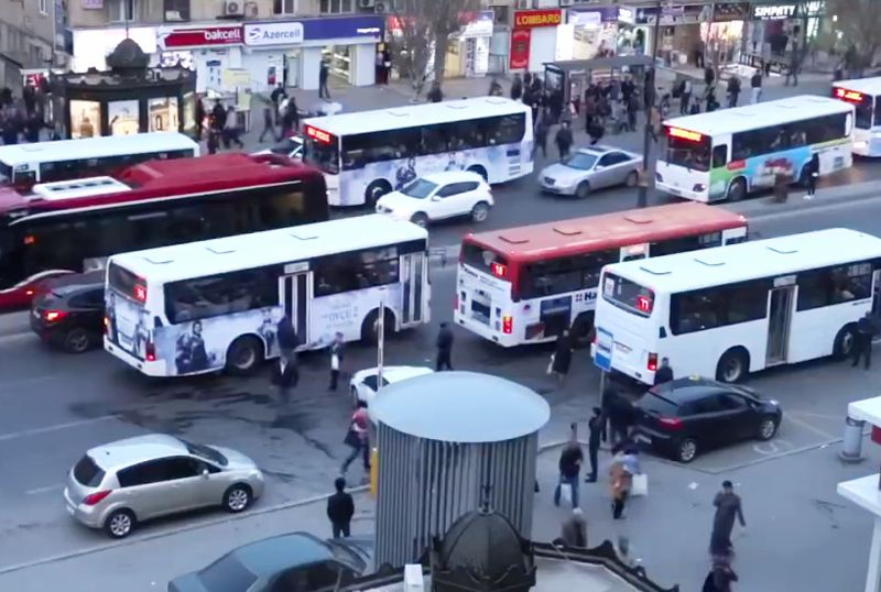 Bakıda sərnişindaşımasında dizel yanacaqlı avtobuslar istismardan çıxarılacaq