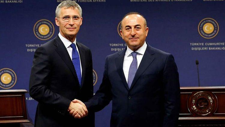 Mövlud Çavuşoğlu və NATO Baş katibi Qarabağ barədə müzakirə aparıblar