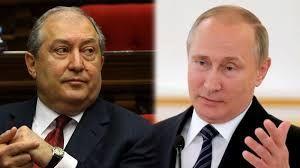 Ermənistan prezidenti Rusiya prezidentinə müraciət etdi