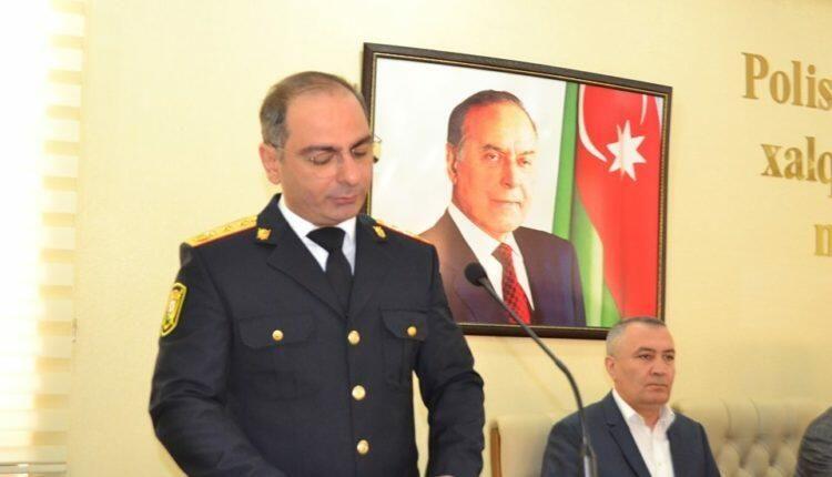 Gəncə Şəhər Baş Polis İdarəsində yeni rəis -  Tərcümeyi-hal