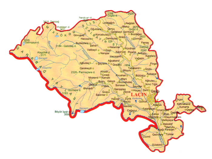 Azərbaycan Ordusu Laçına daxil oldu