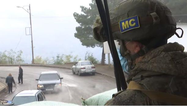 Rusiya sülhməramlılarının Qarabağdakı missiyası ilə bağlı video-görüntü yayıldı