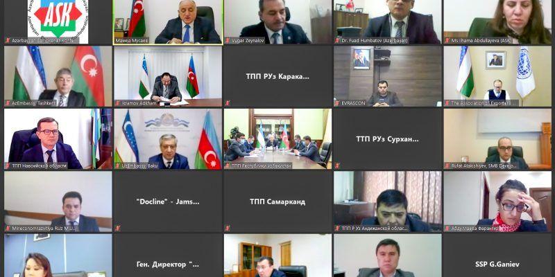 ASK-nın təşkilatçılığı ilə Azərbaycan-Özbəkistan İşgüzar Şurasının birinci iclası keçirilib
