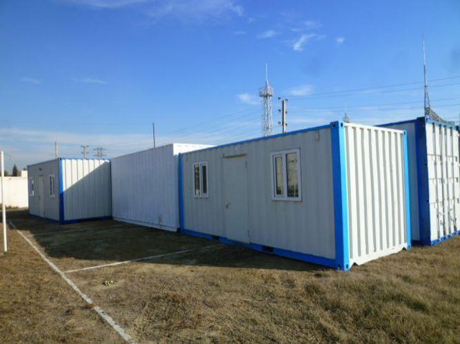 Rusiya səhra şəraitində istifadə üçün Azərbaycan FHN-ə 15 mobil konteyner göndərib