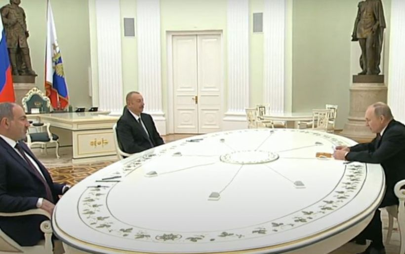 Azərbaycan Prezidenti, Ermənistanın Baş naziri və Rusiya Prezidentinin birgə Bəyanatı TAM MƏTN