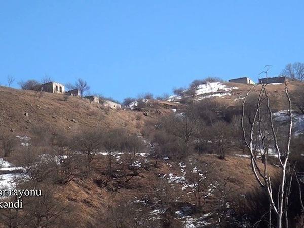 Kəlbəcərin Şaplar kəndi VİDEO