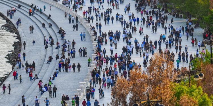 Azərbaycan əhalisinin sayı - 10 milyon 123,4 nəfər