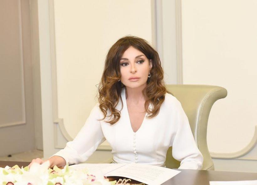 Mehriban Əliyeva Prezident İlham Əliyevlə Şuşaya səfəri zamanı Füzulidən paylaşım edib -  VİDEO
