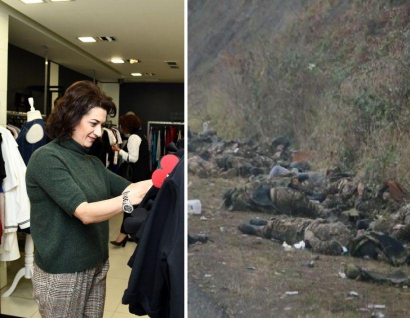Paşinyanın həyat yoldaşı və qızlarının bahalı Moskva alış-verişi Ermənistanda hiddət doğurub