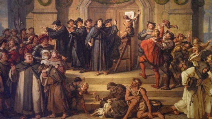 Reformasiya - qurtuluşun 95 tezisi - TARİX