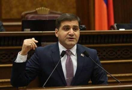 """Erməni deputat: """"Ermənistan parlamenti Dağlıq Qarabağla bağlı qətnamə qəbul etməlidir"""""""