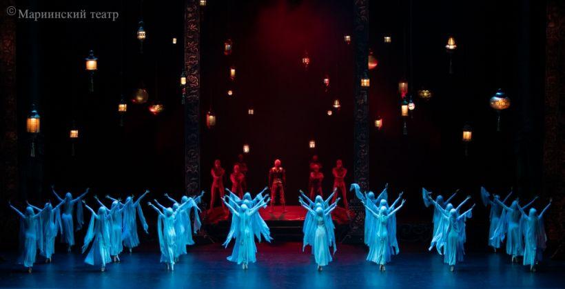 """Min bir gecə"" baleti Mariinski Teatrında nümayiş olunub"