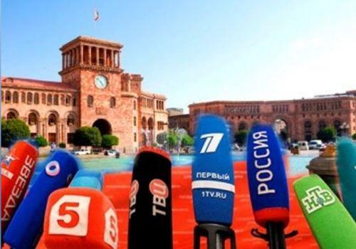 Ermənistanda yayımlanan Rusiya telekanalları ilə bağlı absurd  TƏLƏBLƏR