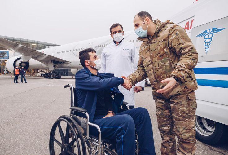 """Üç qazi """"YAŞAT"""" Fondu tərəfindən Türkiyəyə müalicəyə göndərilib"""