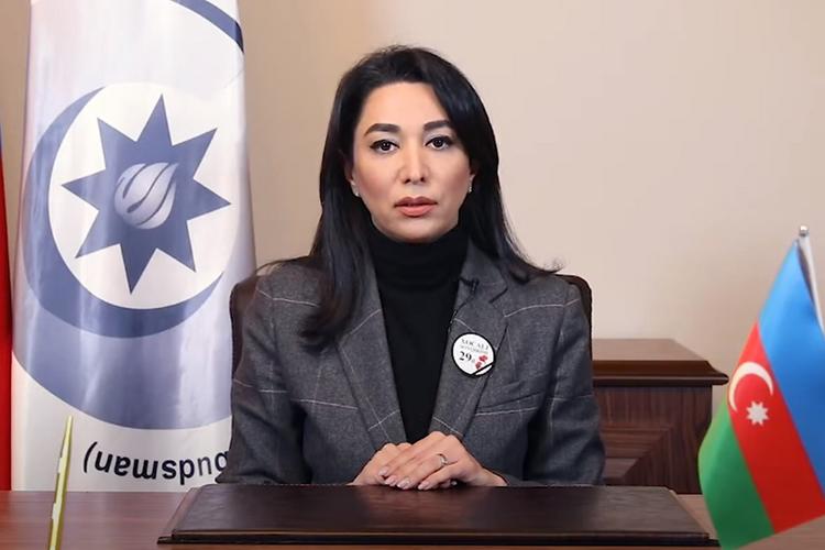 Ombudsman Xocalı soyqırımı ilə bağlı beynəlxalq ictimaiyyətə videomüraciət edib