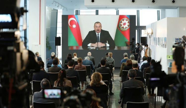 Azərbaycan Prezidentinin mətbuat konfransı -  VİDEO