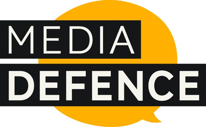 """To """"Media Defence"""" human rights organisation"""