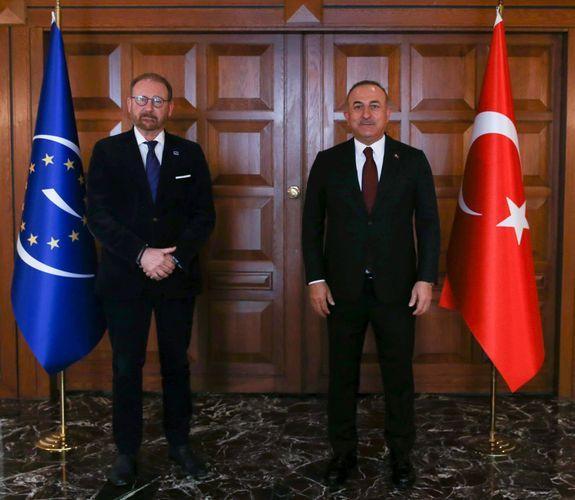 Mövlud Çavuşoğlu AŞPA Prezidenti ilə görüşüb