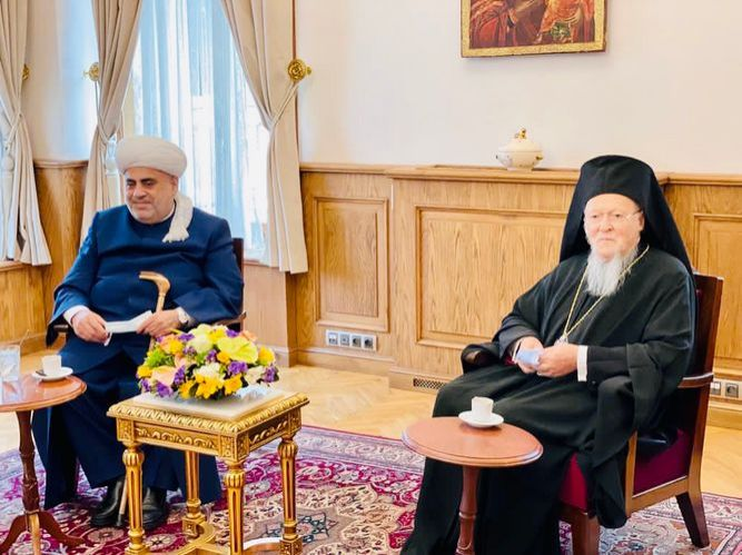 QMİ sədri Patriarx Varfolomeyi Qarabağdakı məscid və kilsələri birlikdə ziyarət etməyə dəvət edib