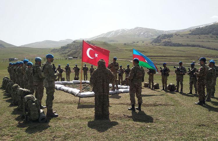 Azərbaycan və Türkiyə ordularının birgə təlimləri başlayıb -  VİDEO