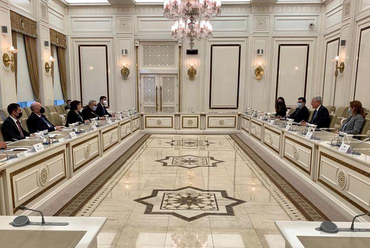 Sahibə Qafarova BMT Baş Assambleyasının Prezidenti ilə görüşüb
