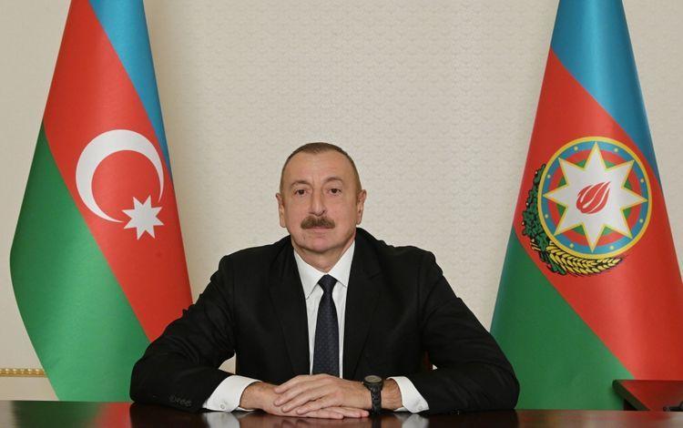 """Prezident İlham Əliyev Kazım Qurbanovu """"Əmək"""" ordeni ilə təltif edib"""