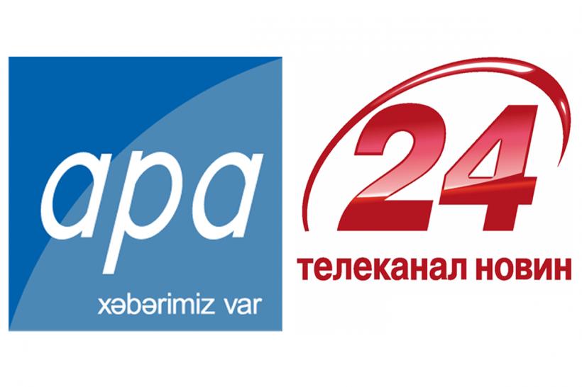 """APA ilə Ukraynanın """"Lüks"""" Teleradio Şirkəti arasında əməkdaşlıq Memorandumu imzalanıb"""