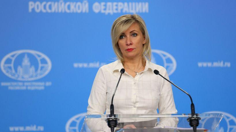 Mariya Zaxarova Qarabağda ərazilərin minalanması problemindən danışdı