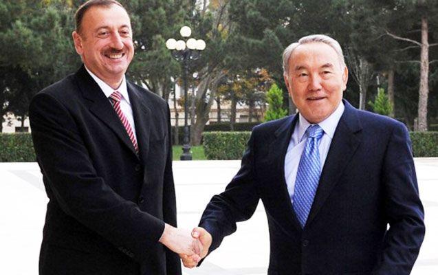 Prezident Əliyev Nazarbayevi təbrik edib