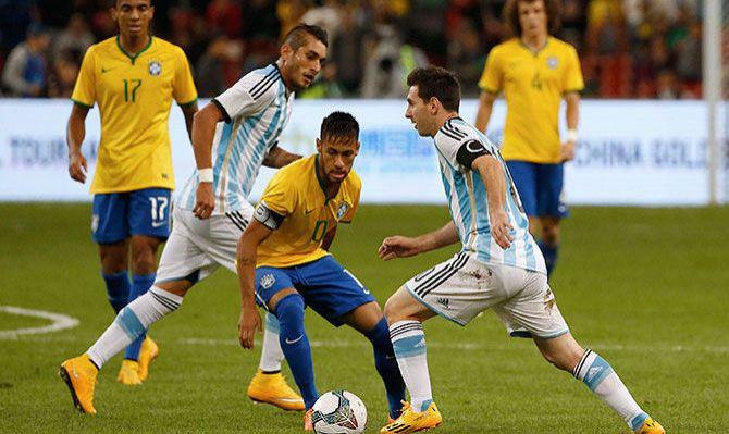 Braziliya və Argentina Amerika Kubokunun finalında