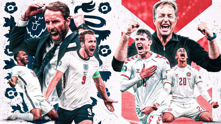İngiltərə tarixində ilk dəfə futbol üzrə Avropa çempionatının finalına yüksəlib