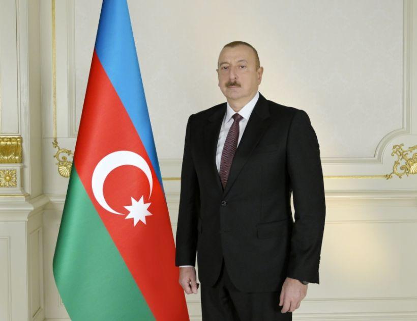 Prezident İlham Əliyev XXIV Avrasiya İqtisadi Zirvə Toplantısının iştirakçılarına təbrik ünvanlayıb